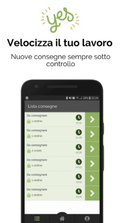 Deliverart - App corriere   Consegne a domicilio