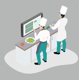 Kitchen monitor